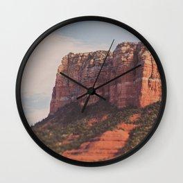 Sedona. Arizona Love Wall Clock