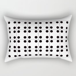 Geometric Pattern #70 (domino) Rectangular Pillow