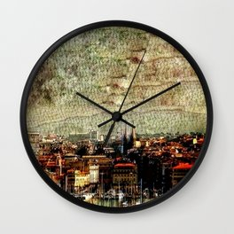 Marseilles Wall Clock