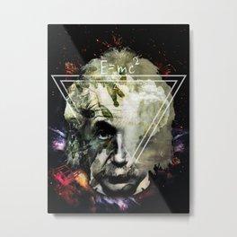 EINSTEIN Metal Print