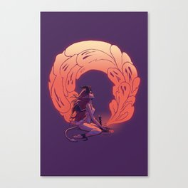 Sleepycabin's Key to Pandora's Box Canvas Print