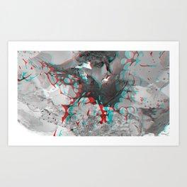 Chrysocolla (series) - 11 Art Print