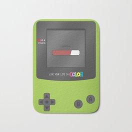 Gameboy Color (green) Bath Mat