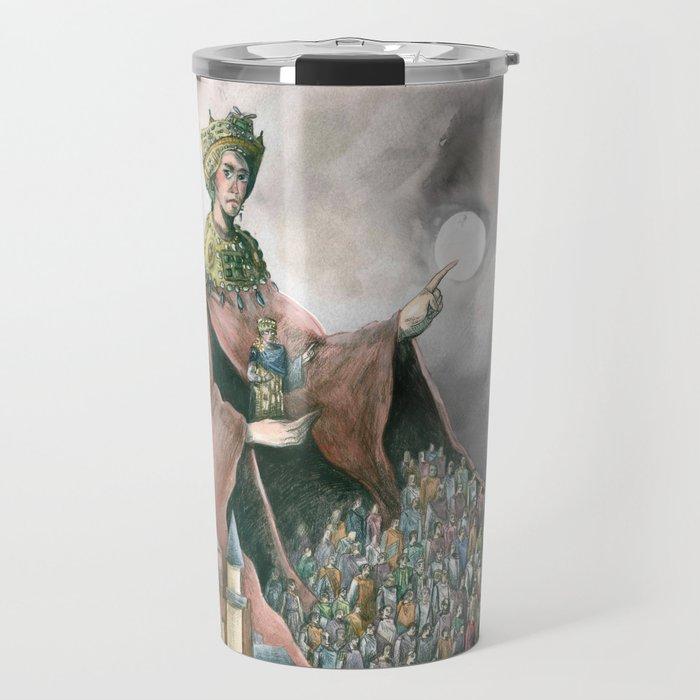 Theodora of Byzantine Travel Mug