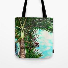 Manila Palm Tree - Hawaii Tote Bag