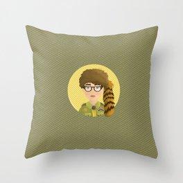Sam - Moonrise Kingdom Throw Pillow