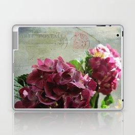carte hydrangea Laptop & iPad Skin