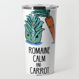 Romaine Calm and Carrot On Travel Mug