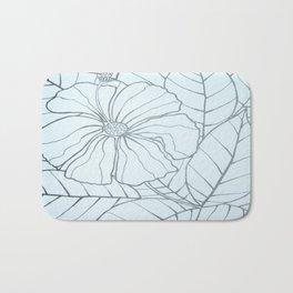 Flower & bee Bath Mat