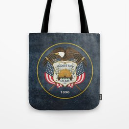 Utah State Flag - vintage version Tote Bag