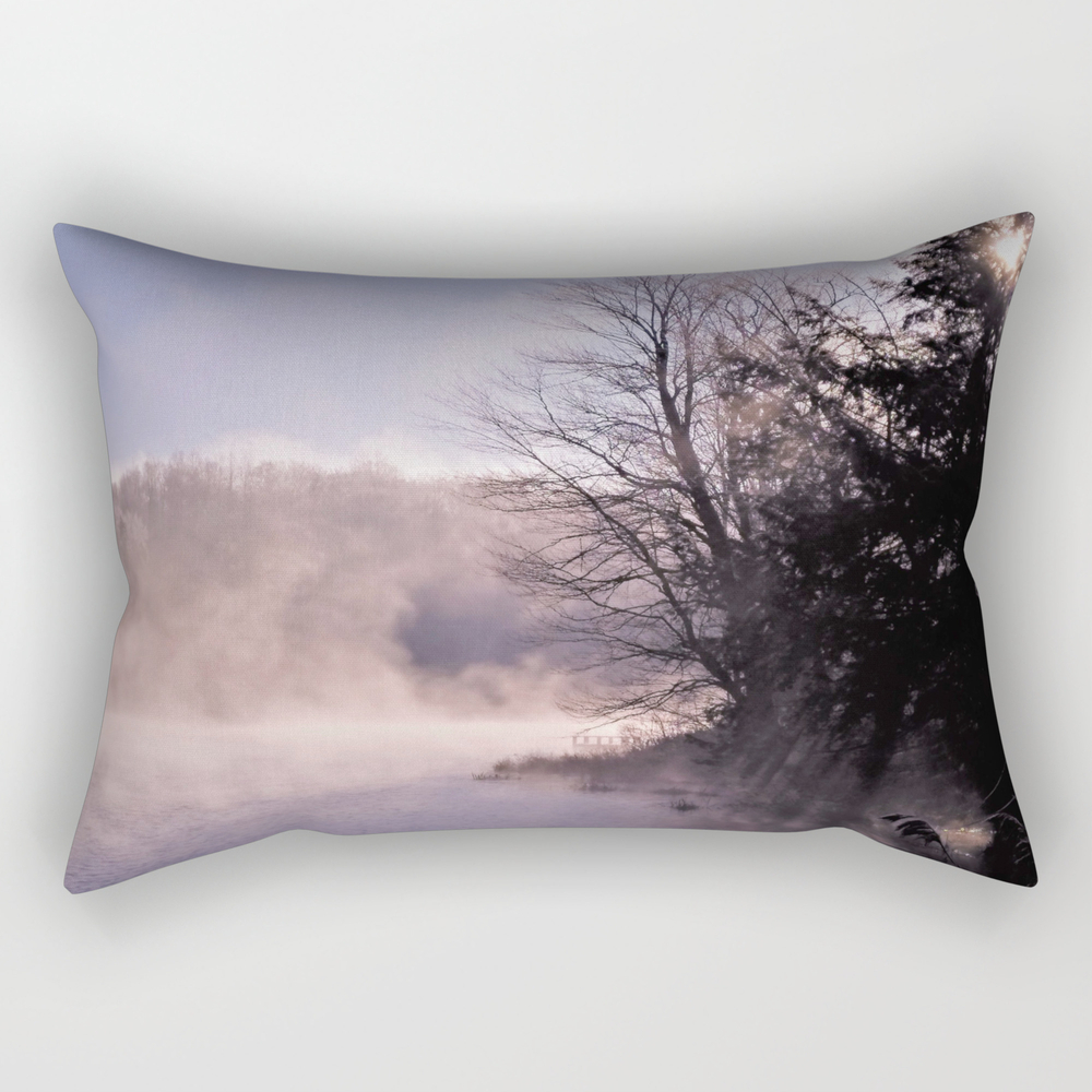 Rays In The Mist Rectangular Pillow RPW8909072