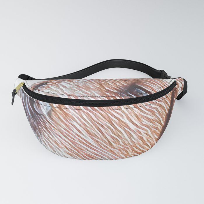 Cute Dog Art Design Fanny Pack