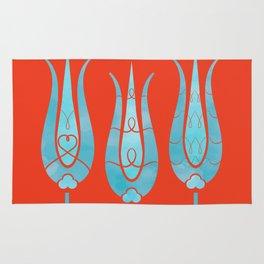 Turkish Tulips ethic design Rug