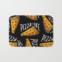 Pizza is Life Bath Mat