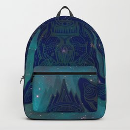 illuminated tigers Backpack
