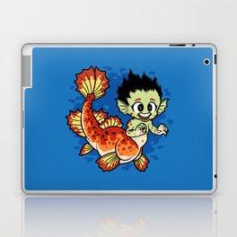 Crimson Pond Dragon Laptop & iPad Skin