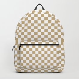 Snow White and Christmas Gold Check Backpack