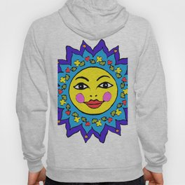 Mayan Sunshine Girl by Amanda Martinson Hoody