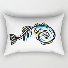 Bone Fishish 4C Rectangular Pillow