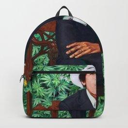 obama portrait smoke Backpack
