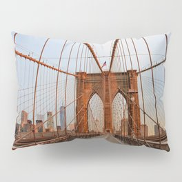 Brooklyn Bridge Sunrise Pillow Sham