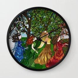 Saisons Wall Clock