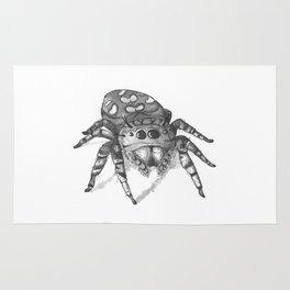 Inktober 2016: Jumping Spider Rug