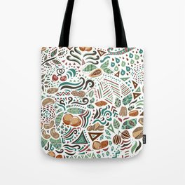 Nuts And Nature Tote Bag