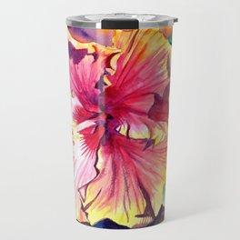 Tropical Hibiscus 13 Travel Mug