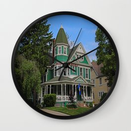 Old West End Green 3- II Wall Clock