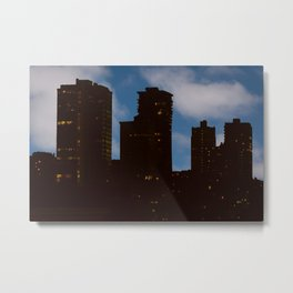 Night and Day - San Francisco Metal Print