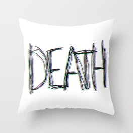 Trippy Death Throw Pillow