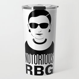 Notorious RBG Travel Mug
