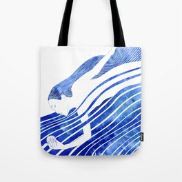 Water Nymph LXV Tote Bag