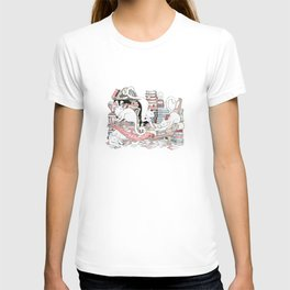 Acqua Alta bookstore, Venice T-shirt