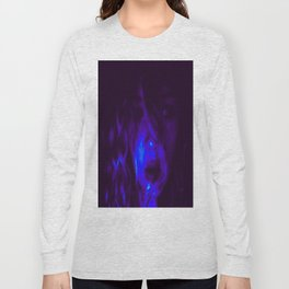 Blue Anointed  Long Sleeve T-shirt