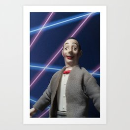 Pee-Wee School Photo Art Print