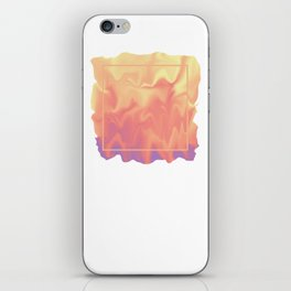 melting colors iPhone Skin