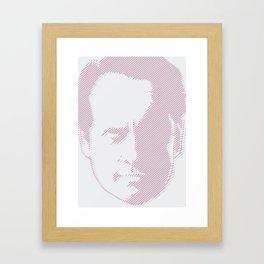 Hello number 6  Framed Art Print