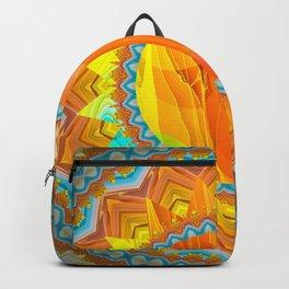 Moon and Sun Mandala Design Backpack