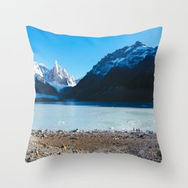 Laguna Torre, Patagonia, Argentina Throw Pillow