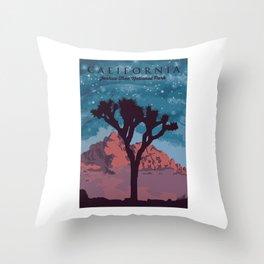 Joshua Tree National Park. Throw Pillow