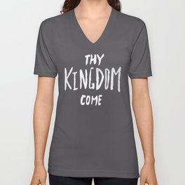 Thy Kingdom Come II Unisex V-Neck