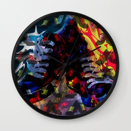 Crazy for Shoes Wall Clock