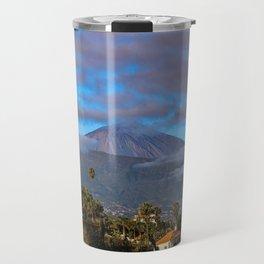 Volcano Teide on Tenerife Travel Mug
