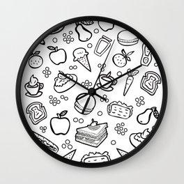 Fun Food Wall Clock