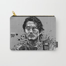 Glenn Rhee from The Walking Dead as played by Steven Yeun Carry-All Pouch
