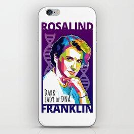 Rosalind Franklin iPhone Skin