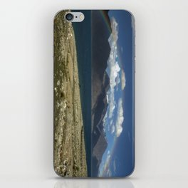 The Rainbow at Pangong! iPhone Skin