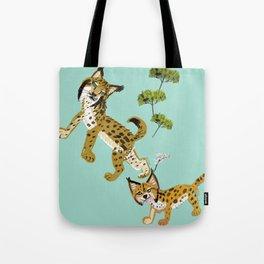 Totem Iberian Lynx Tote Bag